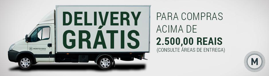 Delivery Grátis para Compras acima R$ 1.000,00